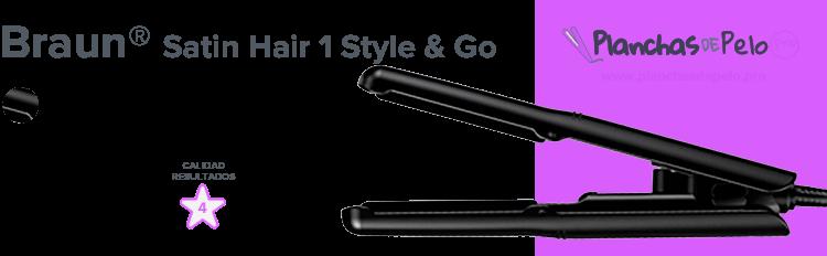Plancha de pelo mini Braun Satin Hair 1 Style & Go