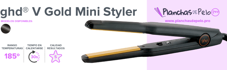 Plancha mini - GHD V GOLD MINI