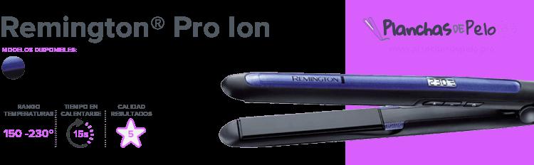 Plancha de pelo mini Remington Pro Ion
