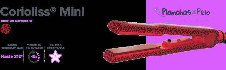 Plancha de pelo mini Corioliss Mini