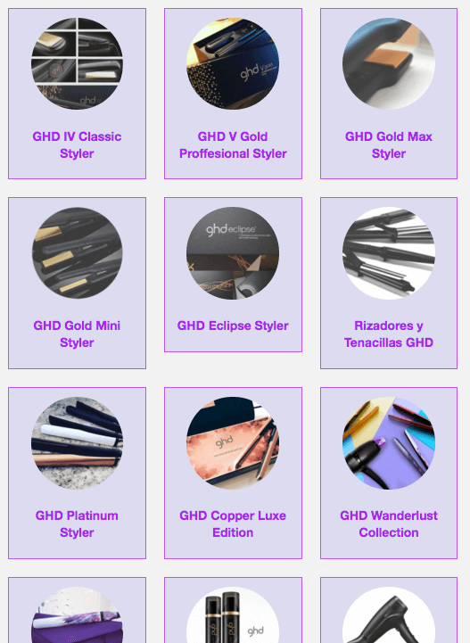 Productos ghd